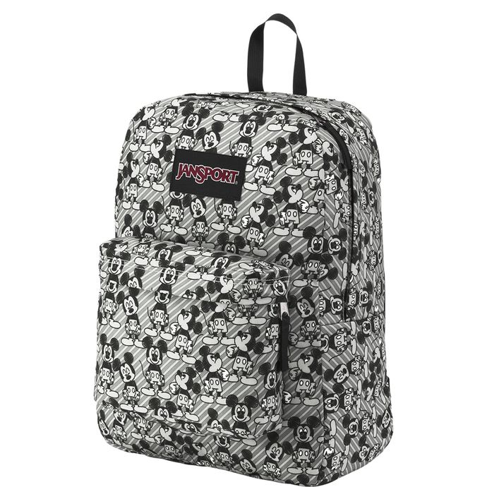 DISNEY-JANSPORT-SUPERBREAK-GREY-RABBIT-MICKEY-SKETCH