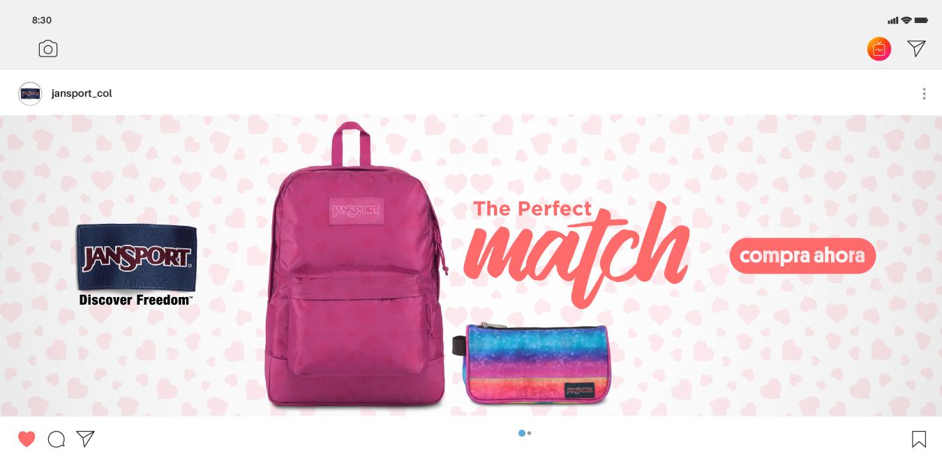 Campaña backpacks