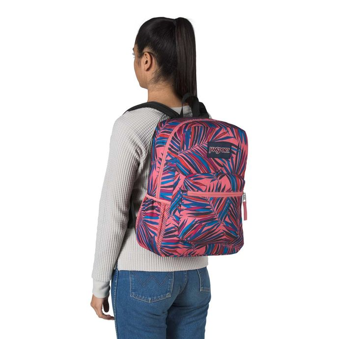 Morral-JanSport-Cross-Town-Palmas-Rosado