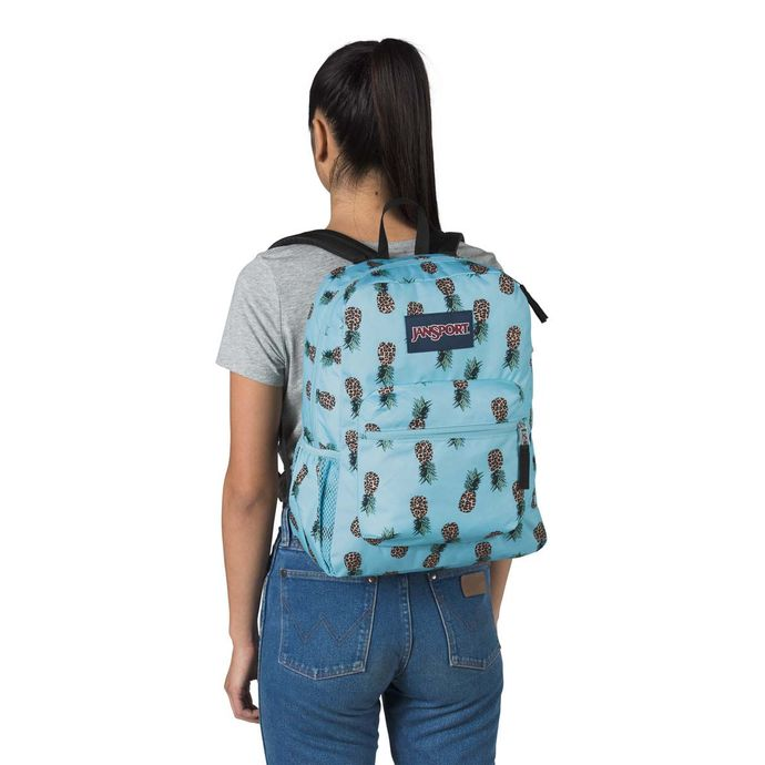 Morral-JanSport-Cross-Town-Azul-piñas
