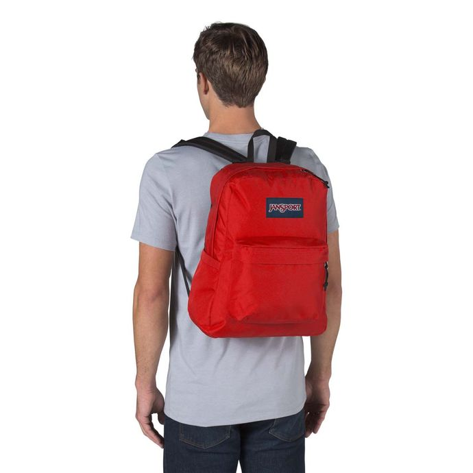 Morral-JanSport-SuperBreak-Rojo