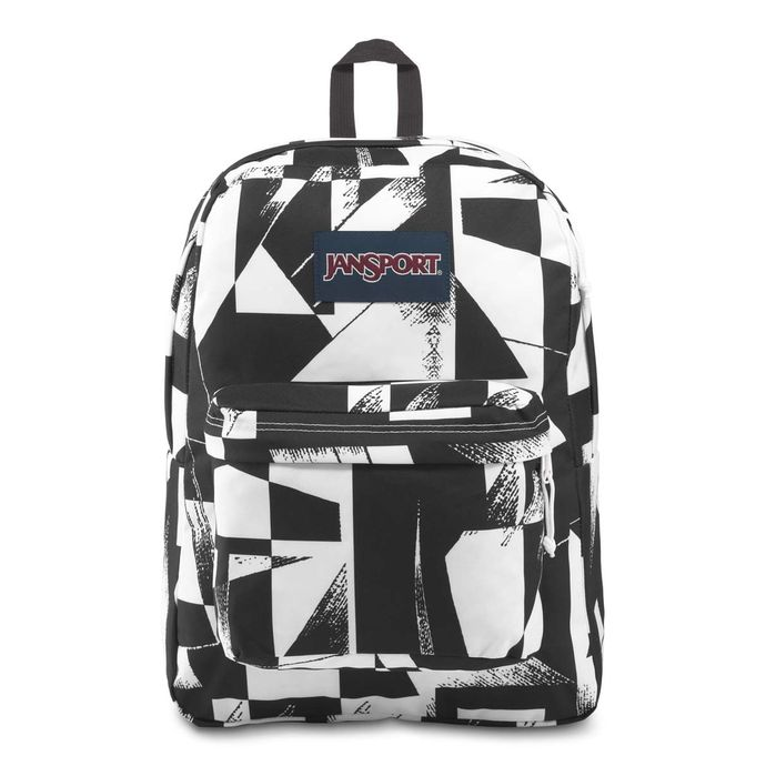 Morral-JanSport-SuperBreak-Blanco-Negro