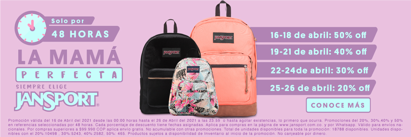 Madres 16 - 18 Abril