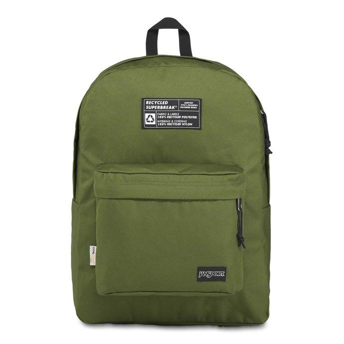 Morral-JanSport-Recycled-SuperBreak-Color-Verde