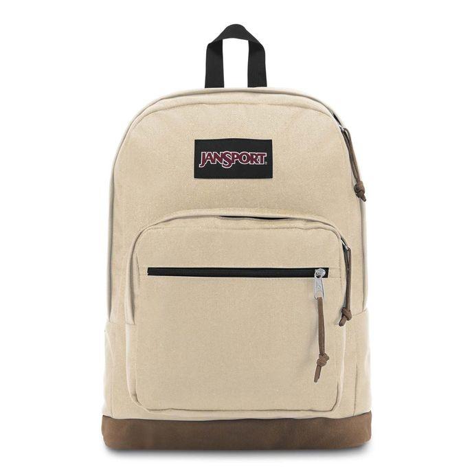 Morral-JanSport-Right-Pack-Bolsillo-portatil-Beige